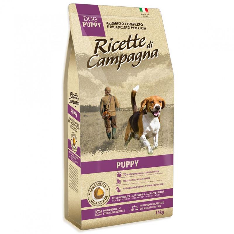 Ricette di Campagna Puppy Senza Glutine 18 Kg