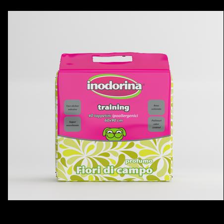 Inodorina Tappetino Igienico Training Fiori Campo 60x90 40 Pz