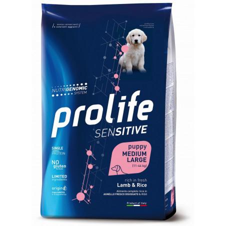 Prolife Sensitive Puppy Mini Agnello e Riso 7 Kg
