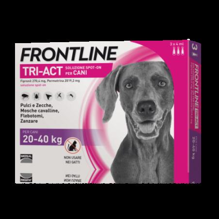 Frontline Tri-Act*3 Pipette 4 Ml 20-40 Kg